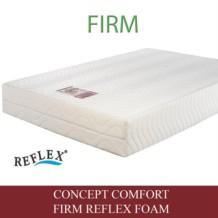 Concept Comfort Firm Reflex Foam Mattress