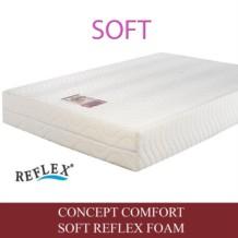 Concept Comfort Soft Reflex Foam Mattress