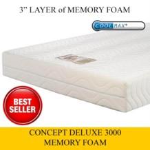 Concept Deluxe 3000 Memory Foam Mattress