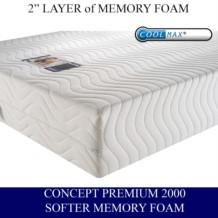 Concept Premium 2000 Memory Foam Mattress