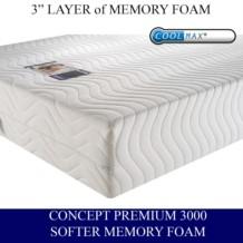 Concept Premium 3000 Memory Foam Mattress