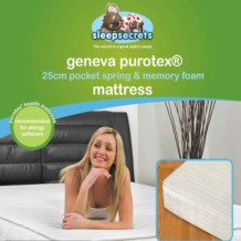 Sleep Secrets Geneva PUROTEX 25cm Mattress