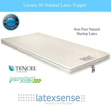 Latex Sense Luxury 80 Natural Latex Mattress Topper - Dunlop Process
