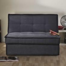 Limelight Solar 2 Str Sofa Bed - Black