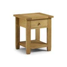 Julian Bowen Lyndhurst 1 Drawer Bedside Table