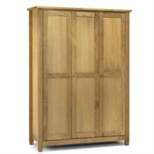 Julian Bowen Lyndhurst 3 Door Wardrobe