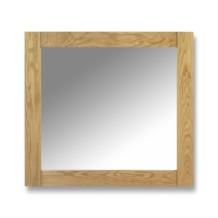 Julian Bowen Lyndhurst Oak Mirror