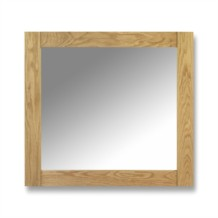 Julian Bowen Lyndhurst Oak Mirror
