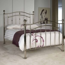 Limelight Lyra Classic Metal Chrome Bed