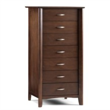 Julian Bowen Minuet 7 Drawer Chest - Tallboy