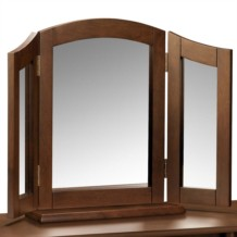 Julian Bowen Minuet Dressing Table Triple (Butterfly) Mirror