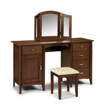 Julian Bowen Minuet Twin Pedestal Dressing Table