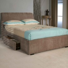 Limelight Oberon Upholstered Bed Frame With Storage Drawers