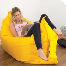 Plain Lazy Bean Bag - For Indoor or Outdoor Use - Water Resistant