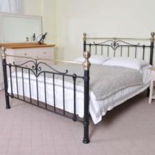 Limelight Sigma Metal Bed Frame - Black