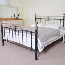 Limelight Sigma Metal Bed Frame - Black