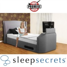 Sleep Secrets Kensington Electric Wireless TV Bed