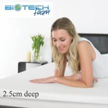 Sleep Secrets Ventilated Memory Foam Topper 2.5cm