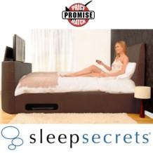 Sleep Secrets Miami Electric Wireless TV Bed