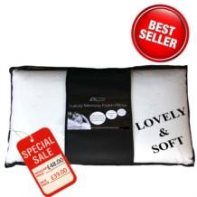 Super Soft Memory Foam Pillow - Traditional Shape