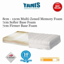 Outlast Deluxe Memory Foam Mattress