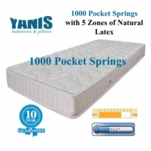 Yanis Pocket Spring 1000 Latex Mattress