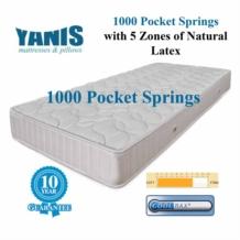 Yanis Pocket Spring 1000 Latex Mattress