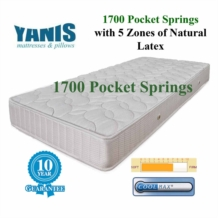 Yanis Pocket Spring 1700 Latex Mattress