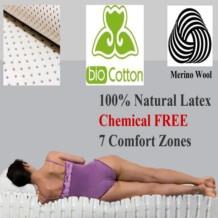 Yanis Pure Latex Mattress with Organic Cover