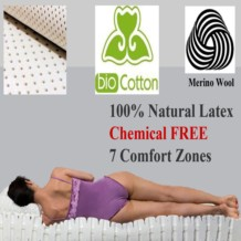Yanis Pure Latex Mattress with Organic Cover