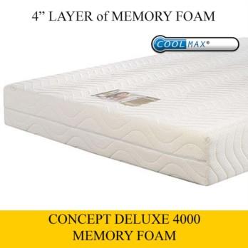 Concept Deluxe 4000 Memory Foam Mattress