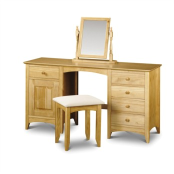 Julian Bowen Kendal Twin Pedestal Dressing Table
