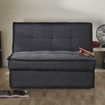 Limelight Solar 2 Str Sofa Bed - Black