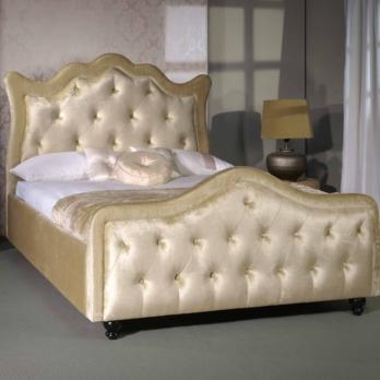 Limelight Vega Bed Velvet Upholstery