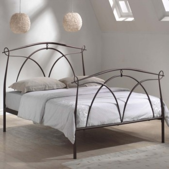 Limelight Omega Metal Bed Frame - Black