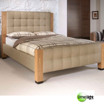 Limelight Saturn Upholstered Chunky Bed