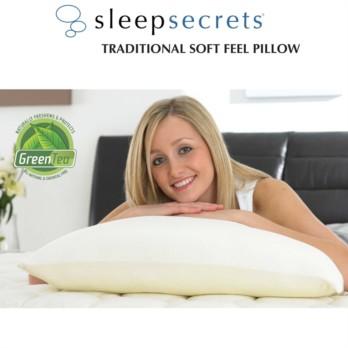 Sleep Secrets Traditional Soft Feel Pillow