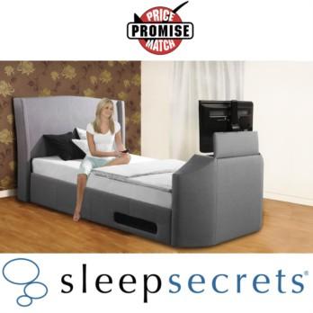 Sleep Secrets Kensington Electric Wireless TV Bed
