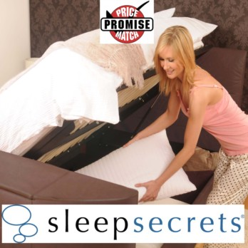 Sleep Secrets Miami Electric Wireless Storage TV Bed