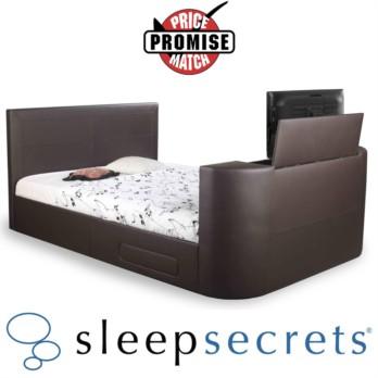 Sleep Secrets Sophia Pneumatic TV Bed Faux Leather