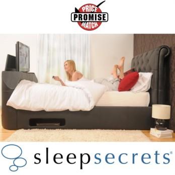 Sleep Secrets Stratford Electric Wireless TV Bed