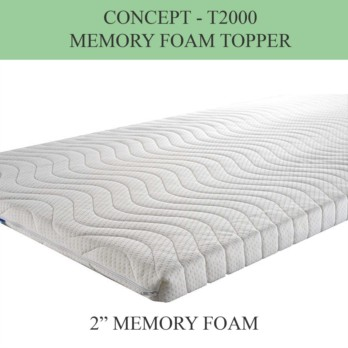 "Concept Memory Foam Topper T2000 5cm (2"")"