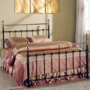 Limelight Tarvos Metal Bed Frame - Black