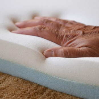 Memory Foam Travel Mattress Topper - Without Cover