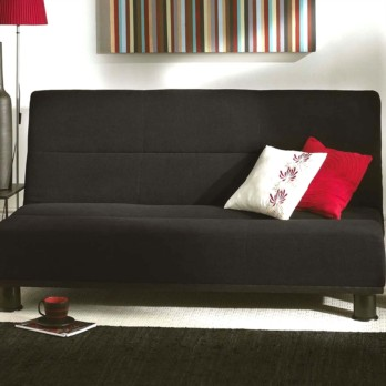 Limelight Triton 3 Str Sofa  Bed - Black