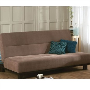 Limelight Triton 3 Seater Sofa Bed Brown Frabric