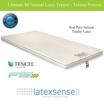 Latex Sense Ultimate 80 Natural Latex Mattress Topper - Talalay Process