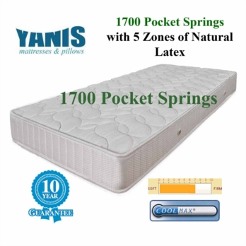 Yanis Pocket Spring 1700 Latex Mattress