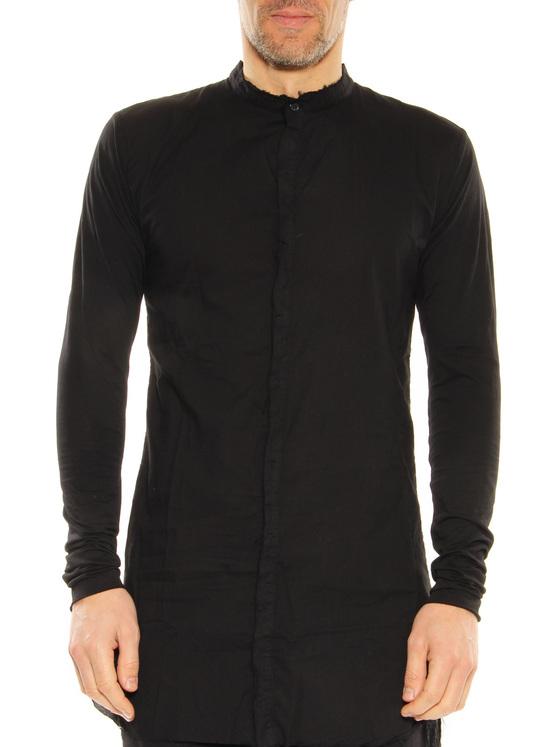 Long shirt Thom Krom black