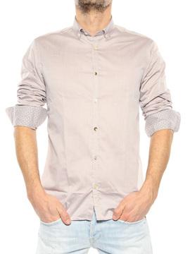 "Shirt ""David"" MU taupe"